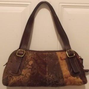 FOSSIL - Carpet Bag, vintage